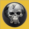Spherical Artisan Skull Knob
