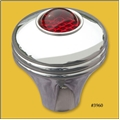 3960 Red Glass Eye Shift Knob